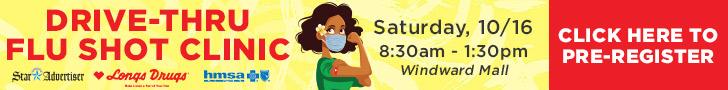 Windward Mall Drive-Thru Flu Shot Clinic